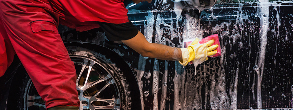 Professional car wash is your best option